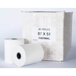 57mm x 50mm thermal box 20