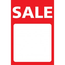 A Board posters Sale with white panel