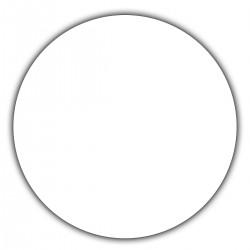 Adhesive labels - circular