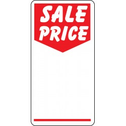 "Adhesive labels ""Sale Price"""