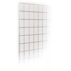 Chrome mesh panels