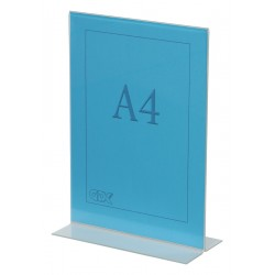 Double sided showcard holders