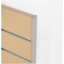 End caps for slat panels