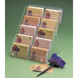 Florist card display - wall/counter