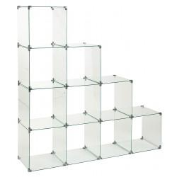 Glass cube unit 10 step