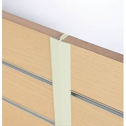 H sections for slat panels