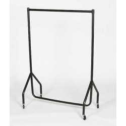 Junior garment rail black top