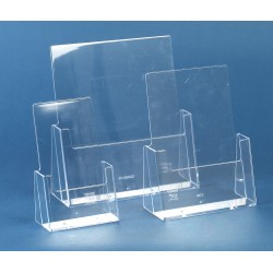Leaflet holders free standing A4