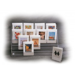 Minicard display - wall/counter