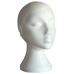 Poly head female white