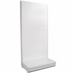 Retail Shelving Wall Unit - Plain Back Panels - Base Shelf Only