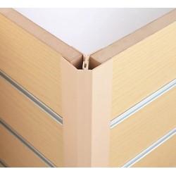 Slat panel corner quadrant