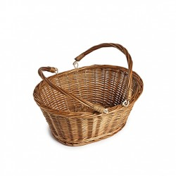 Wicker Shopping Basket (box of 5)