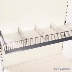 Wire Shelf Risers and Dividers